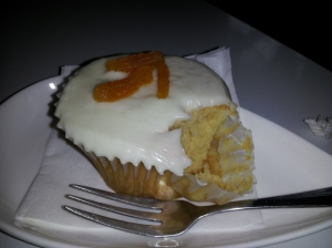 Apricot Ricotta Cupcake