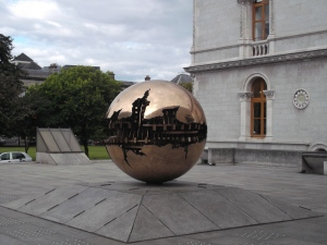Sphere within Sphere, or The Big Gold Ball.